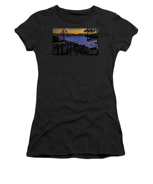 Sundown At Sand Harbor Women's T-Shirt