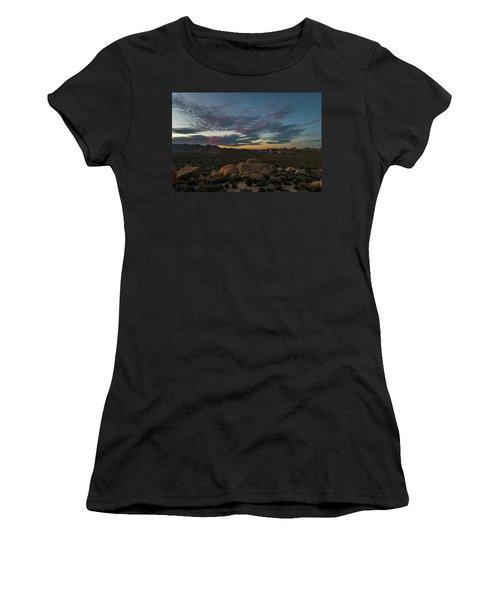 Sundown From Hilltop View Women's T-Shirt
