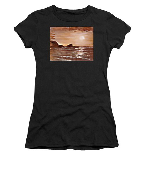 Sundown Glow Women's T-Shirt (Athletic Fit)