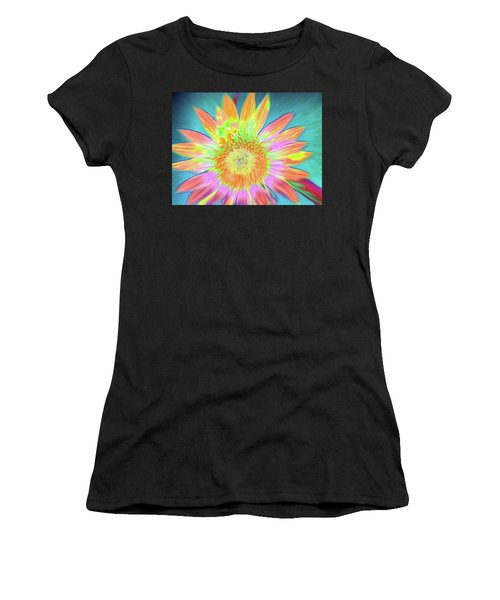Women's T-Shirt featuring the photograph Sunfeathered by Cris Fulton