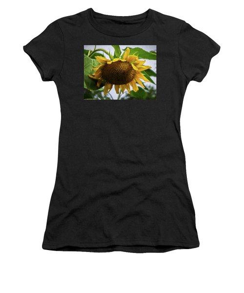Sunflower Art II Women's T-Shirt (Athletic Fit)