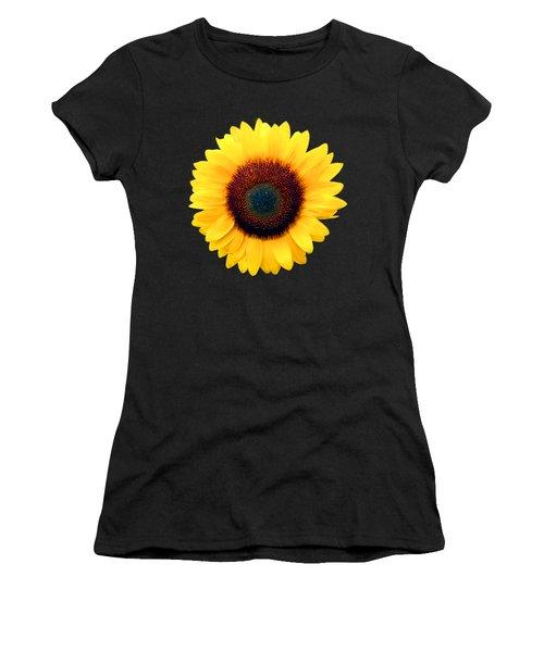 Sunflower Women's T-Shirt (Junior Cut) by Bob Slitzan