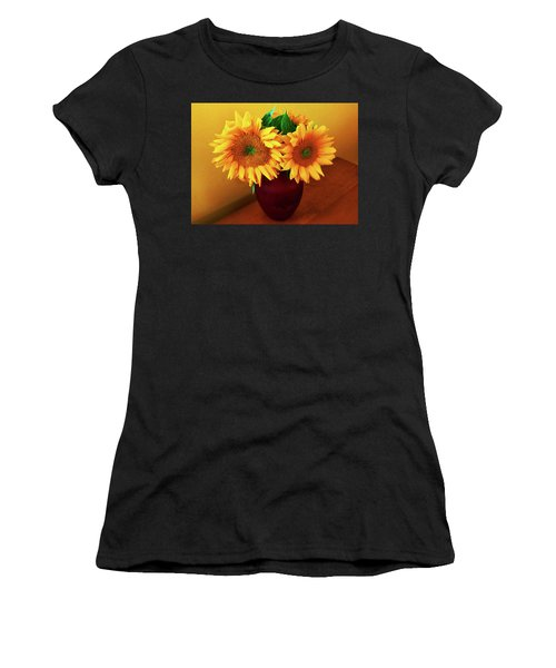 Sunflower Corner Women's T-Shirt (Athletic Fit)