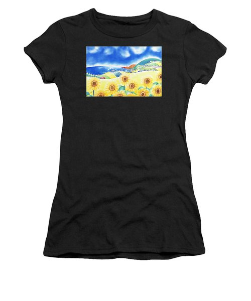 Sunflower Hills Women's T-Shirt