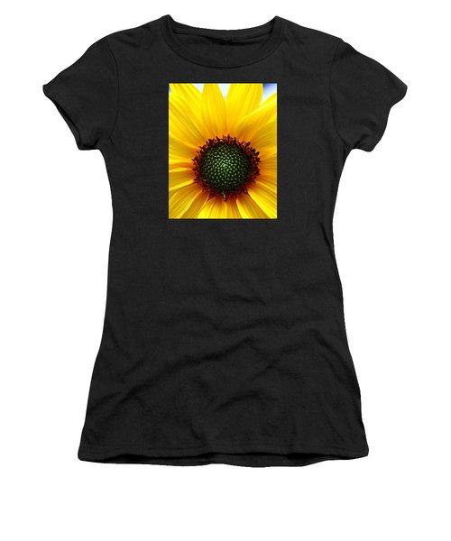 Sunflower Macro Women's T-Shirt (Athletic Fit)