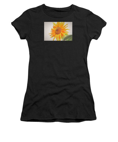 Sunflower Painting Women's T-Shirt (Athletic Fit)