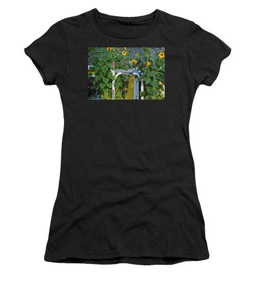 Sunflower Roads Women's T-Shirt