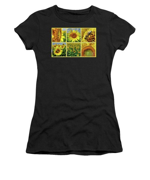 Sunflower Story - Collage Women's T-Shirt