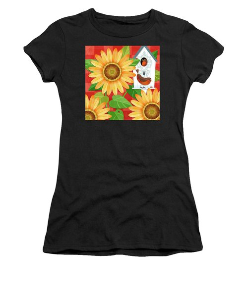 Sunflower Surprise Women's T-Shirt