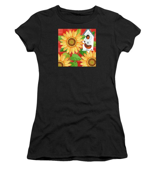Sunflower Surprise Women's T-Shirt