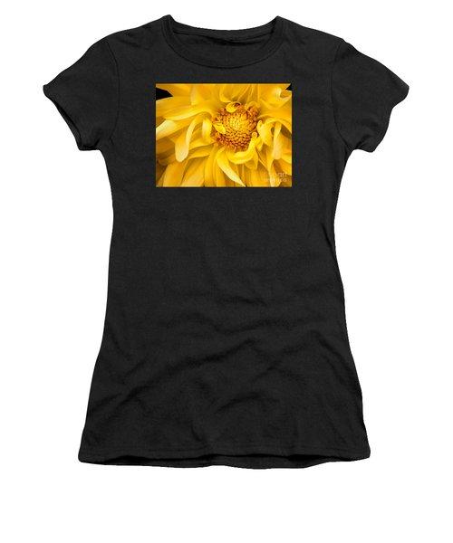 Sunflower Yellow Women's T-Shirt