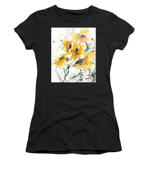 Sunflowers 10 Women's T-Shirt (Athletic Fit)