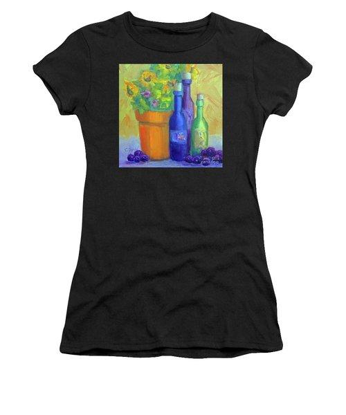 Sunflowers And Wine Women's T-Shirt