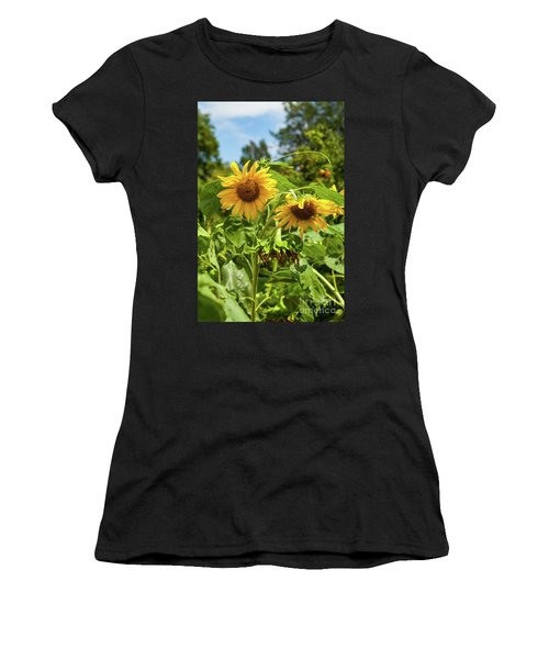 Sunflowers In Sunshine Women's T-Shirt