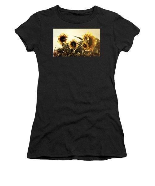 Sunflowers In Tone Women's T-Shirt