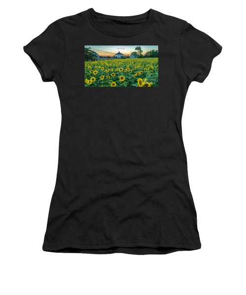 Sunflowers For Wishes  Women's T-Shirt