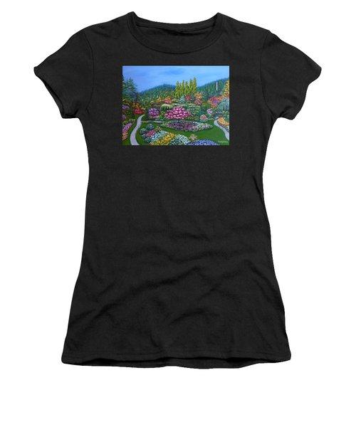 Sunken Garden Women's T-Shirt (Athletic Fit)