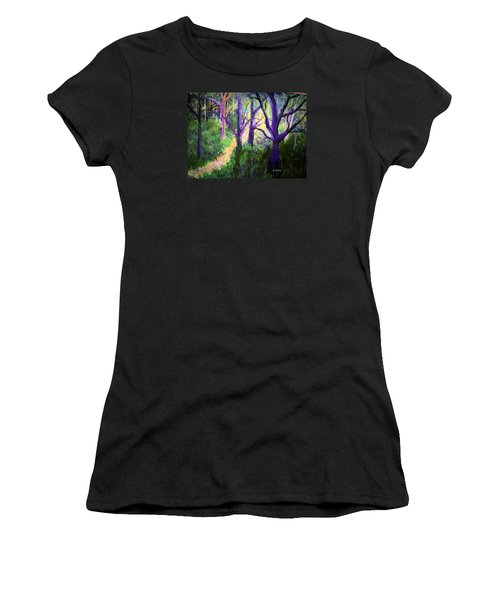 Sunlight In The Forest Women's T-Shirt