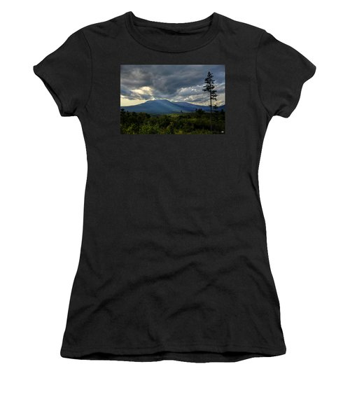 Sunlight On Katahdin Women's T-Shirt