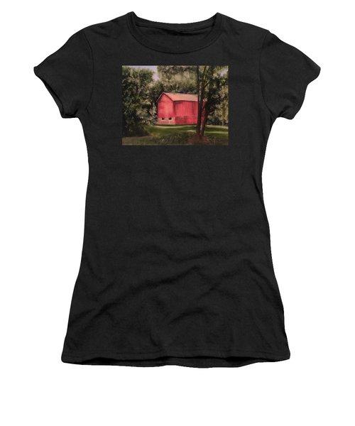 Sunlit Barn Women's T-Shirt (Athletic Fit)