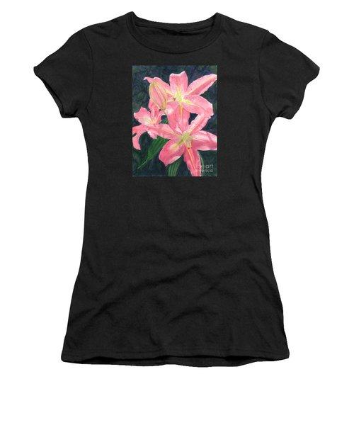 Sunlit Lilies Women's T-Shirt (Athletic Fit)