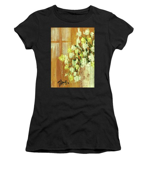 Sunny Flowers Women's T-Shirt (Athletic Fit)