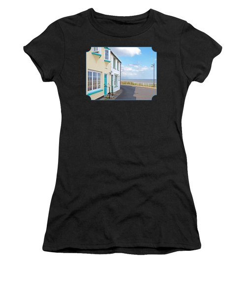 Sunny Outlook - Southwold Seafront Women's T-Shirt