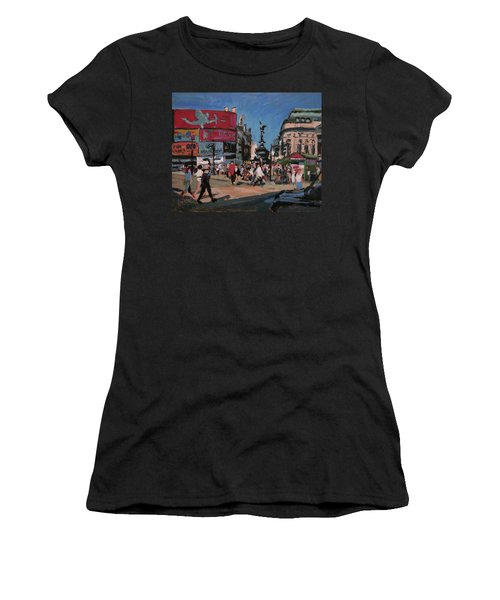 Sunny Piccadilly Women's T-Shirt (Athletic Fit)
