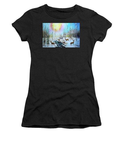 Sunny Winter Women's T-Shirt