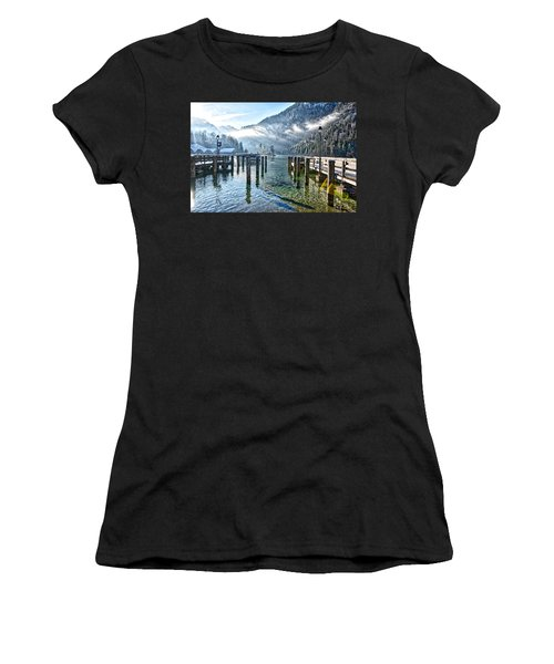 Sunny Winter Morning Women's T-Shirt