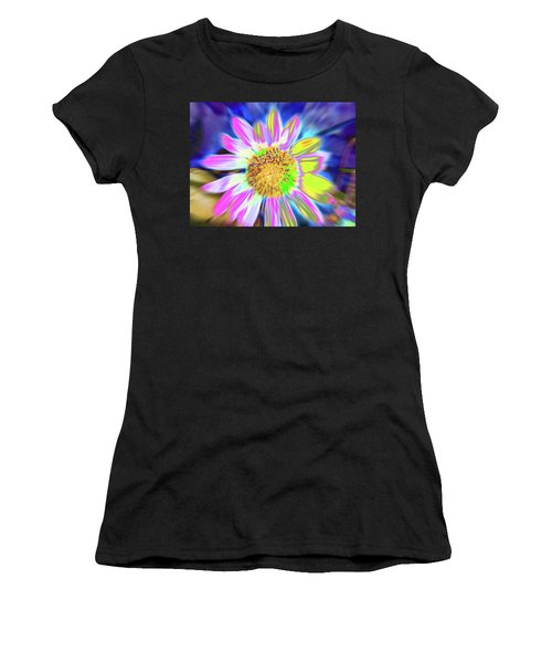 Women's T-Shirt featuring the photograph Sunrapt by Cris Fulton