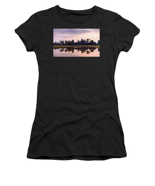 Sunrise At Angkor Wat Women's T-Shirt (Athletic Fit)