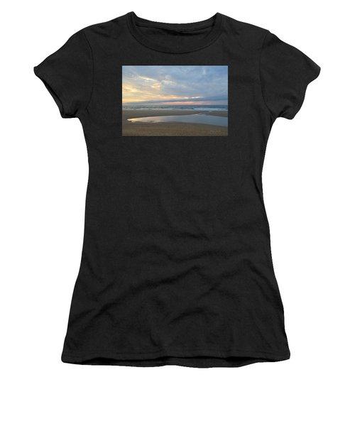 Women's T-Shirt featuring the photograph Sunrise At Loggerhead by Barbara Ann Bell
