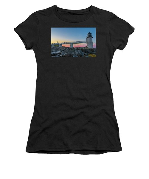 Sunrise At Marshall Point Women's T-Shirt