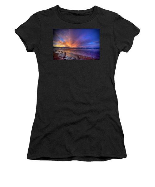 Sunrise At Newborough Women's T-Shirt