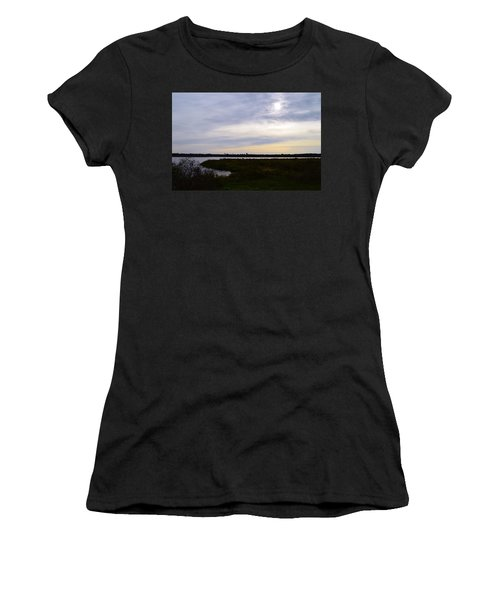 Sunrise At Orange Creek Women's T-Shirt (Junior Cut) by Warren Thompson