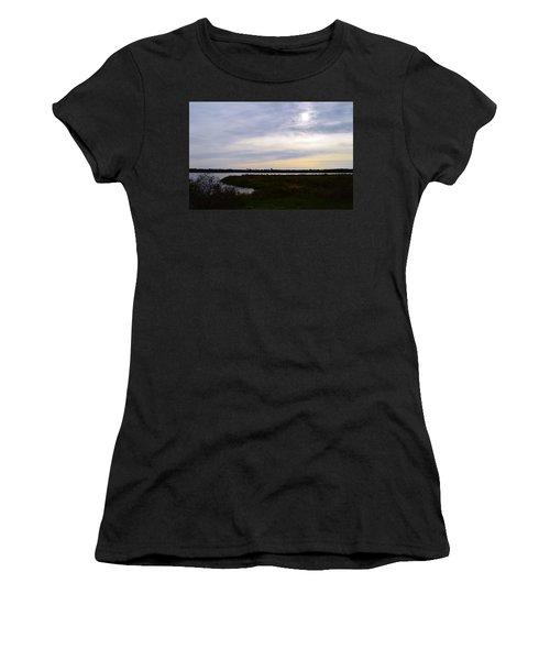 Sunrise At Orange Creek Women's T-Shirt (Athletic Fit)