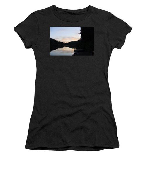 Sunrise Boat  Women's T-Shirt (Athletic Fit)