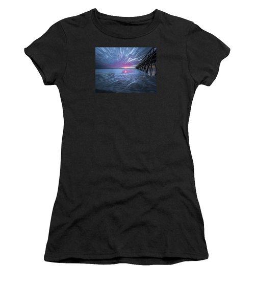 Sunrise Color Women's T-Shirt (Athletic Fit)