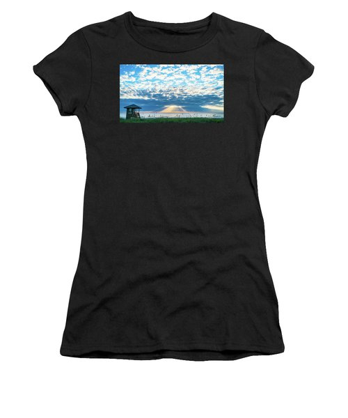 Sunrise Hope Delray Beach Florida Women's T-Shirt (Athletic Fit)