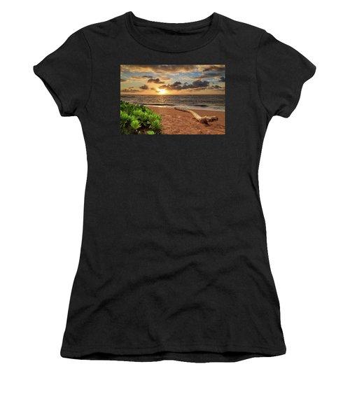 Sunrise In Kapaa Women's T-Shirt