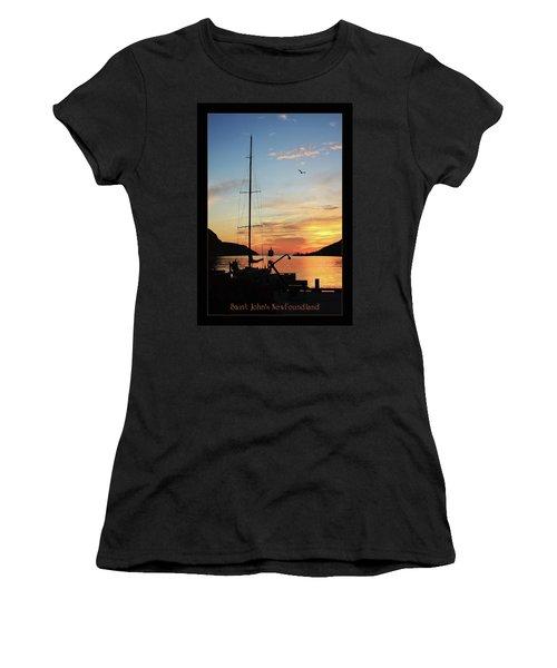 Sunrise In Newfoundland Women's T-Shirt