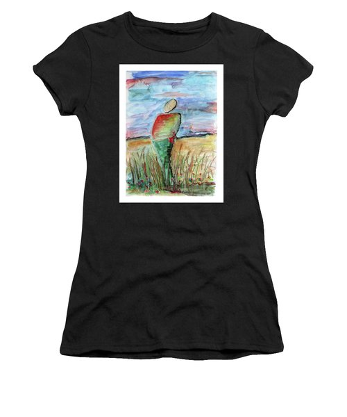 Sunrise In The Grasses Women's T-Shirt