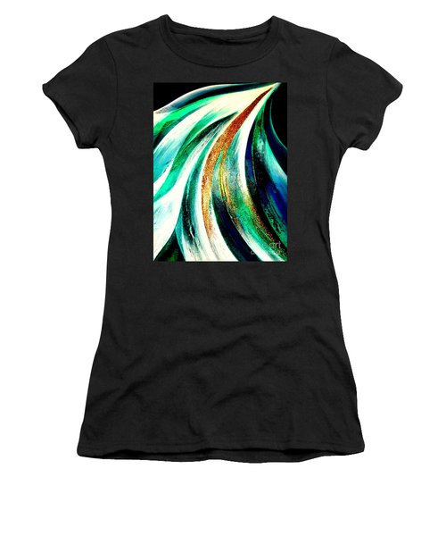 Sunrise In Water Fall Women's T-Shirt
