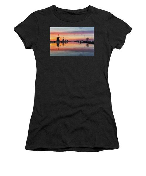 Sunrise Kinderdijk Women's T-Shirt