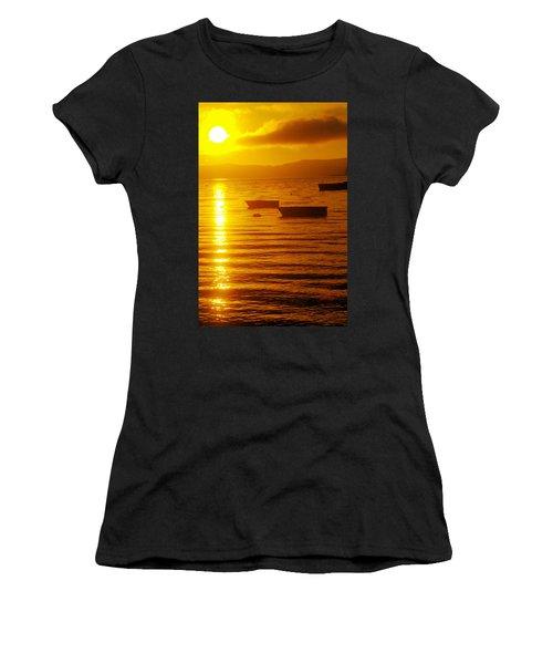 Sunrise Near Liliwaup  Women's T-Shirt