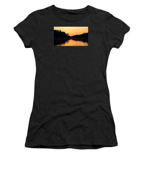 Sunrise On A Lake Women's T-Shirt (Athletic Fit)