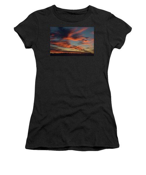 Sunrise On Fire Women's T-Shirt (Athletic Fit)