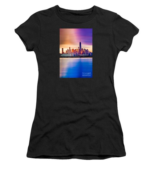 Sunrise On Freedom Women's T-Shirt (Athletic Fit)