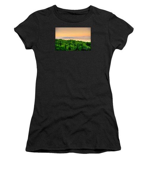 Sunrise On Maui Women's T-Shirt (Athletic Fit)